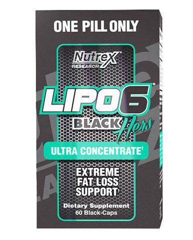 LIPO-6 Black Ultra Concentrate 60 капсул