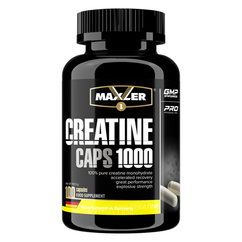Maxler Creatine Caps 100 капсул