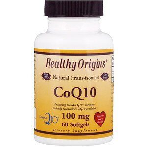 Healthy Origins CoQ10, 100 мг
