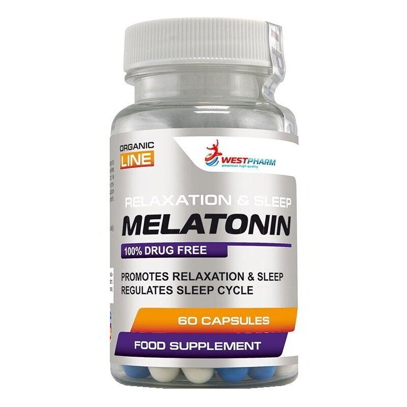 WESTPHARM - Melatonin 5mg 60 таб