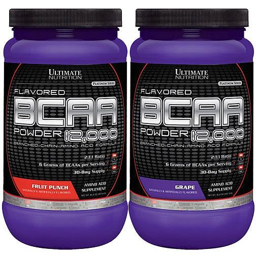 Ultimate Nutrition BCAA 12000 Flavored