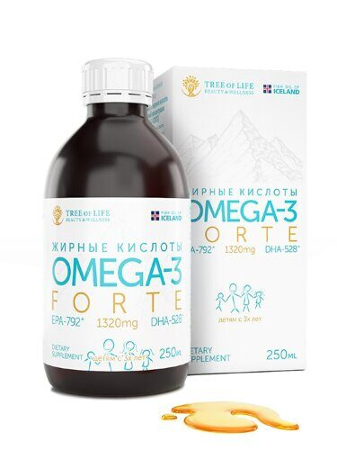 LifeTree of Life Omega-3 forte 250 ml