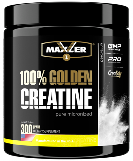 MAXLER GOLDEN CREATINE 300 ГР БАНКА
