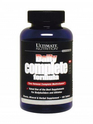 Ultimate Nutrition Daily Complete Formula 180 капсул