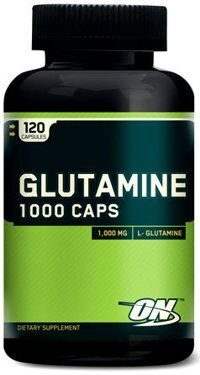Optimum Nutrition Glutamine caps 1000 mg. 120 капсул