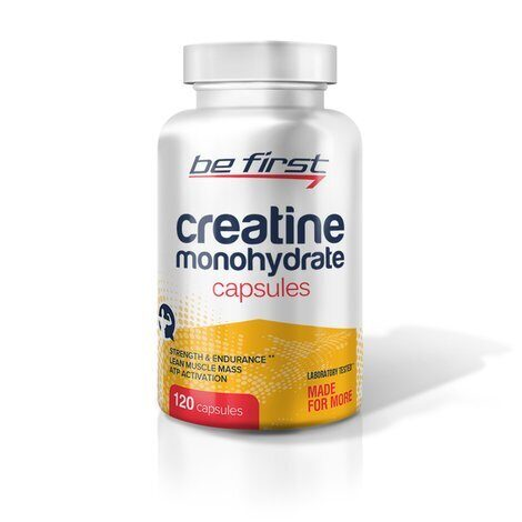 Be First Creatine Monohydrate Capsules 120 шт