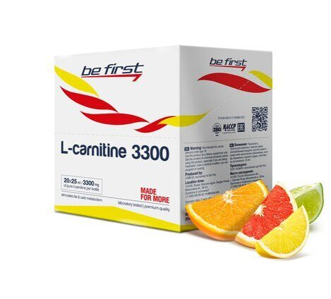 Be First L-carnitine 3300 ампула 25 мл