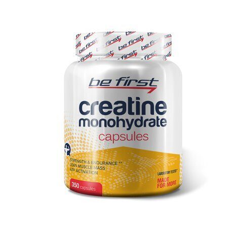 Be First Creatine Monohydrate Capsules 350 таб