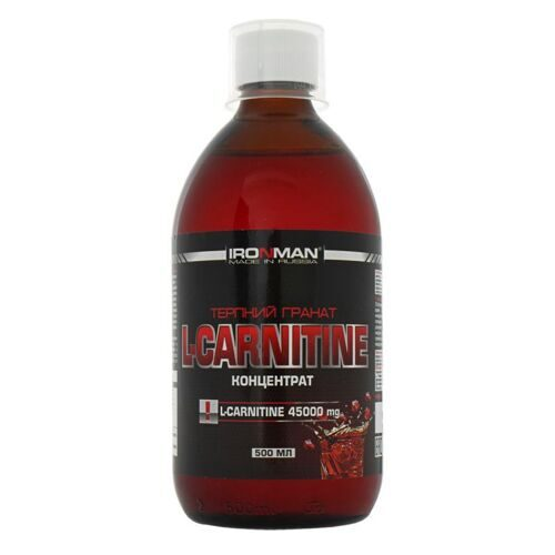 IRONMAN™ L-CARNITINE концентрат 0.5л