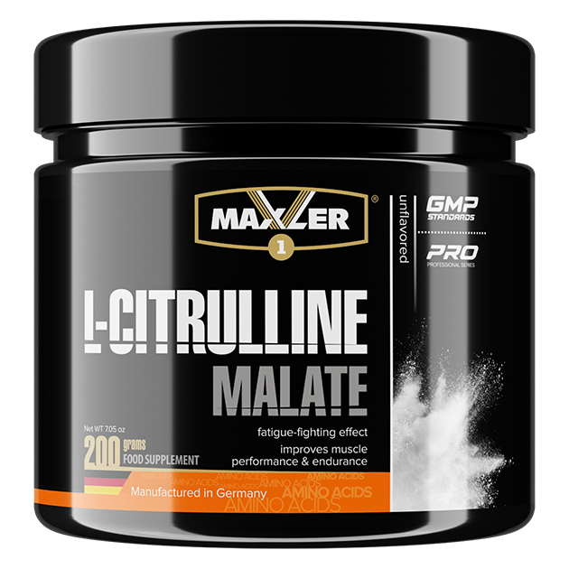 Maxler USA L-Citrulline Malate без вкуса 200 г