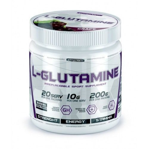 KING PROTEIN L-Glutamine 200 гр.