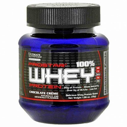 Ultimate Nutrition Prostar Whey Protein пробник 30 гр