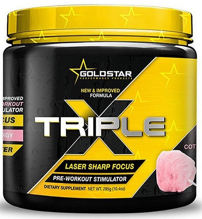 Gold Star  Triple X 50 порций