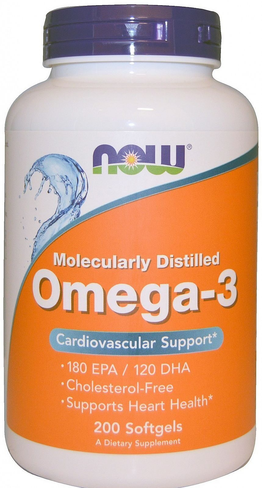 NOW - Omega 3 1000 mg 200 гел.капс