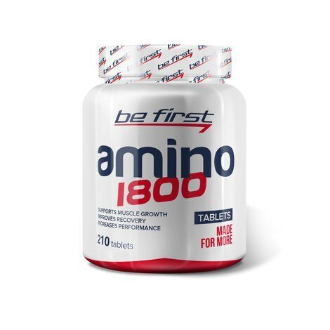 Be First Amino 1800 (210 табл)