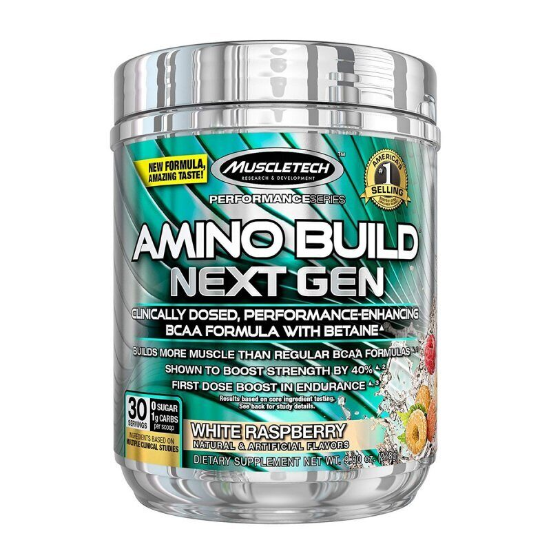 MuscleTech  Amino Build Next Gen Energized 30 порц.