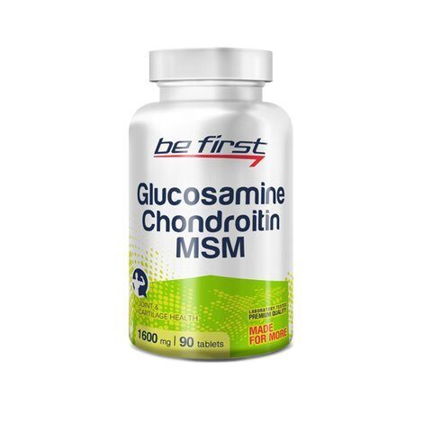 Be First Glucosamine + Chondroitin + MSM