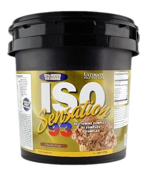 Ultimate Nutrition  ISO Sensation 2270 гр