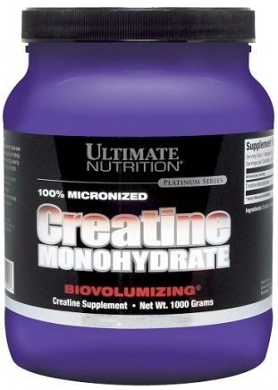 Ultimate Nutrition 100% Micronized Creatine Monohydrate, 1 кг